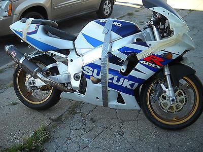 Suzuki : GSX-R 1999 gsxr 750 suzuki srad