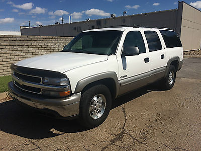 Chevrolet : Suburban LS Sport Utility 4-Door 2000 chevrolet suburban 4 x 4 leather seats cold a c third row 5.3 l