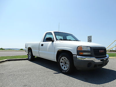 GMC : Sierra 1500 SL  2006 gmc sierra 1500 sl reg cab 143 k miles one owner perfect work truck