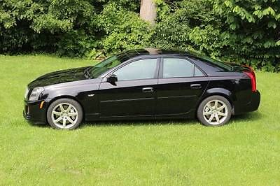 Cadillac : CTS v 2004 cadillac cts v ls 6 v 8 6 mt manual pristine black w sunroof