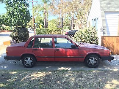 Volvo : 740 Base Sedan 4-Door 1989 volvo 740 base sedan 4 door 2.3 l