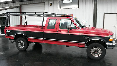 Ford : F-250 XLT Extended Cab Pickup 2-Door 1994 ford f 250 xlt extended cab pickup 2 door 7.3 l