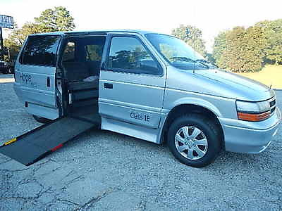 Dodge : Caravan INDEPENDENT MOBILITY SYSTEMS CONVERSION WHEELCHAIR LIFT EQUIPPED DROPPED FLOOR DODGE CARAVAN, IDEAL LOW COST TRANSPORT