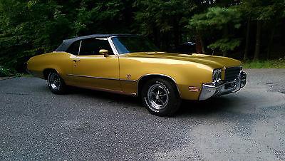 Buick : Skylark GS 1971 buick skylark gs convertible 455