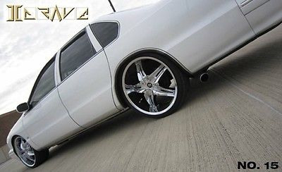 Chevrolet : Caprice Classic Sedan 4-Door super clean lowered 2 inches w 22 inch chrome wheels and shaved doors