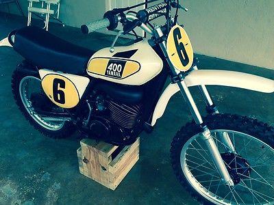 Yamaha : Other 1975 yamaha mx 400 cr yz kx rm tm ahrma advra vintage motocross