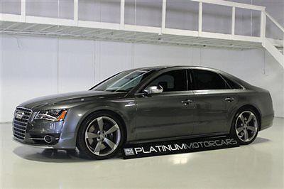 Audi : S8 4dr Sedan 2014 audi s 8 carbon fiber interior one owner