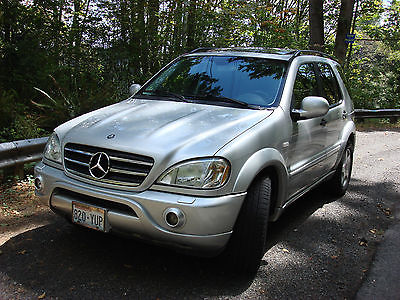 Mercedes-Benz : M-Class ML 55 AMG Rare Fast & Clean Mercedes Benz ML55 AMG 4WD SUV low miles 7 pssgr AWD loaded
