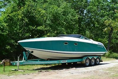 Donzi Z33 Power Boat Project 80% complete (512)8884812