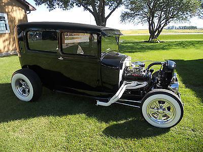 Ford : Model A SEDAN 1929 ford model a tudor sedan streetrod