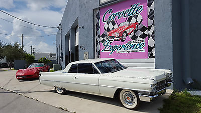 Cadillac : Other 1963 cadillac series 62 coupe 6.4 l v 8 huge caddy