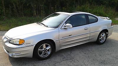 Pontiac : Grand Am GT 2001 pontiac grand am gt coupe 3.4 l auto cd sunroof chrome wheels ac silver