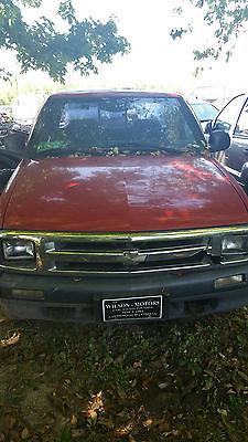Chevrolet : S-10 ZR2 1994 chevrolet s 10 zr 2 extended cab pickup 4.3 l vortec 4 wd needs engine