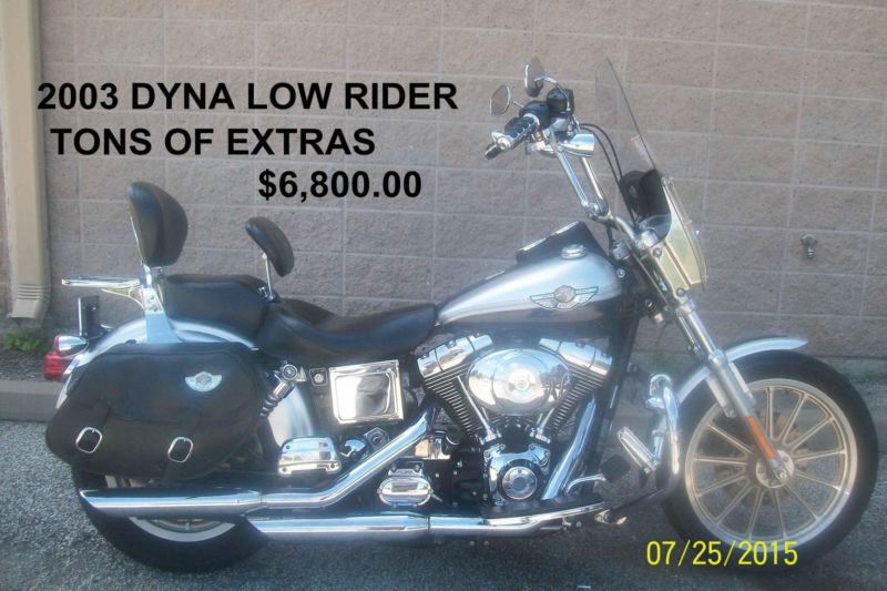 2003 FXDL DYNA LOW RIDER ANNIVERSARY EDITION CARBURETED