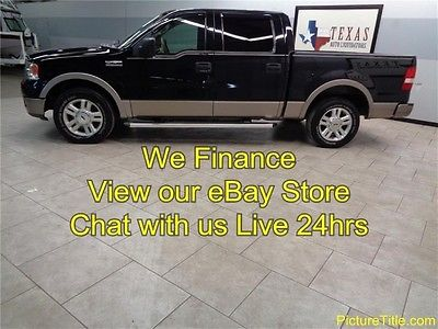 Ford : F-150 Lariat 2WD Crew Cab 04 ford f 150 lariat crew cab 5.4 v 8 leather tow pkg carfax certified we finance
