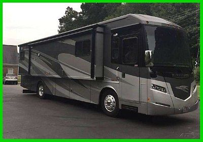2013 Winnebago Journey 36M 36' Class A 360 HP Cummins Diesel 3 Slide Outs TV