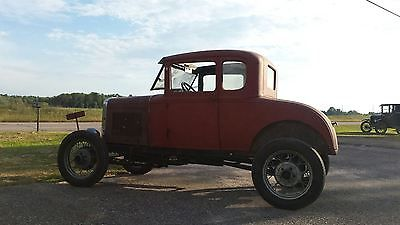 Ford : Model A 1931 ford model a coupe banger scta barn find patina driver flathead all steel