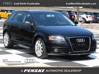 Audi : A3 Premium Plus Diesel Audi Certified 44 k miles 2013 audi a 3 tdi black leather sirius radio alloys bluetooth