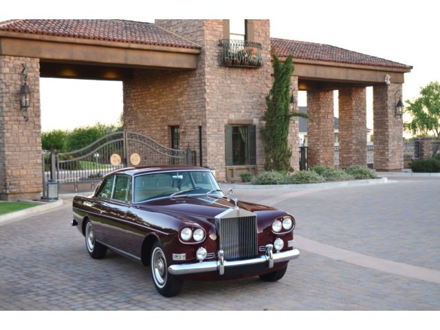 Rolls-Royce : Other 1964 rolls royce silver cloud siii hj mulliner coupe beautiful ca az car