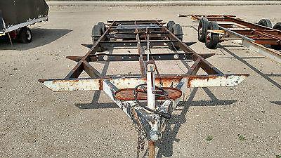 24 foot Heavy Duty tandem axle trailer frame