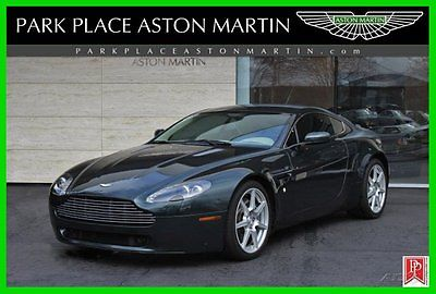 Aston Martin : Vantage Base Hatchback 2-Door 2007 aston martin v 8 vantage coupe 4.3 l v 8 32 v 6 spd manual low miles