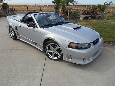 Ford : Mustang Saleen S281 2002 saleen speedster s 281 convertible immaculate california car