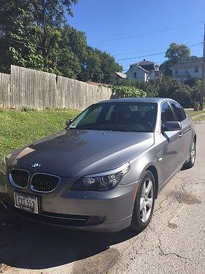 BMW : 5-Series Base Sedan 4-Door 2008 bmw 535 xi gray sedan 4 door