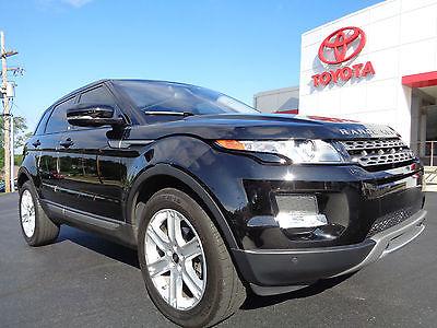 Land Rover : Evoque Pure Plus Package Climate Comfort Black Metallic  2013 range rover evoque awd navigation panoramic roof santorini black video 12 k