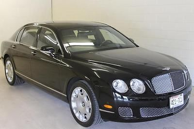 Bentley : Continental GT Flying Spur Sedan 4-Door 2009 bentley continental flying spur sedan 4 door 6.0 l