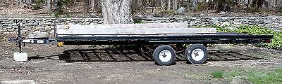 Car Mate 7' x 16' Snowmobile ATV Utility Equipment Trailer