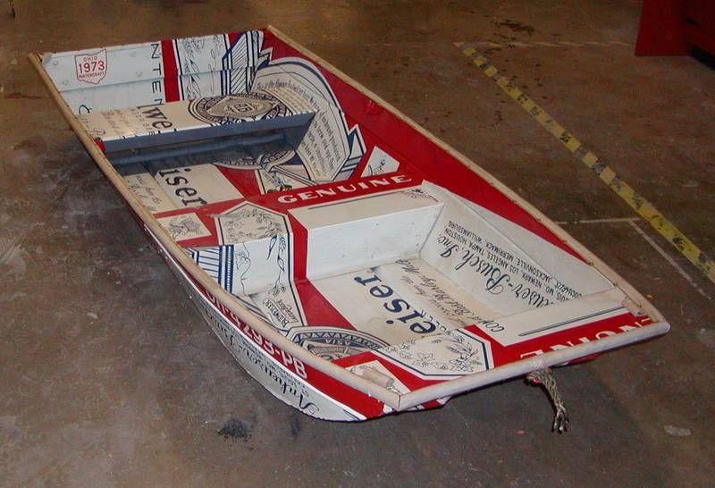 Custom Budwieser Boat
