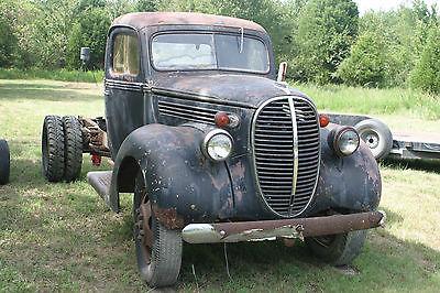 Ford : Other Pickups Standard 1938 1939 ford flathead truck dually hot rat rod ramp hauler like coe