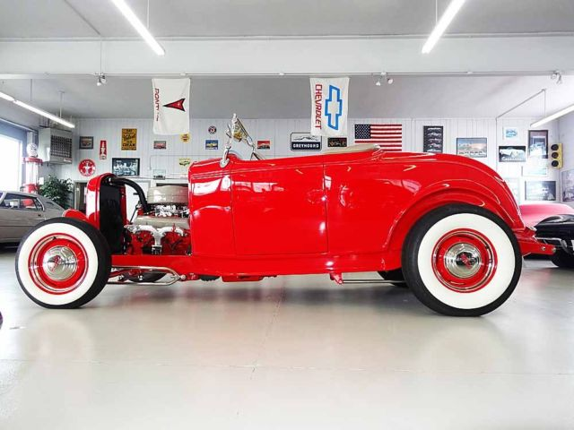 Ford : Model A HiBoy Roadster, HiBoy Automatic Trans. Fresh Build Show or Drive New Condition