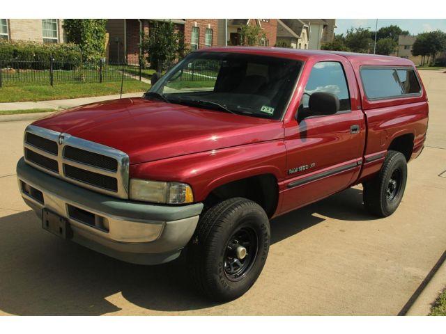 Dodge : Ram 1500 2dr Reg Cab 1998 dodge ram 1500 5.2 l v 8 4 x 4 camper clean title rust free