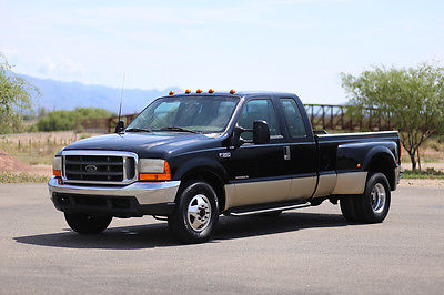 Ford : F-350 MONEY BACK GUARANTEE 2000 ford f 350 diesel lariat dually drw 7.3 l inspected in ad f 350