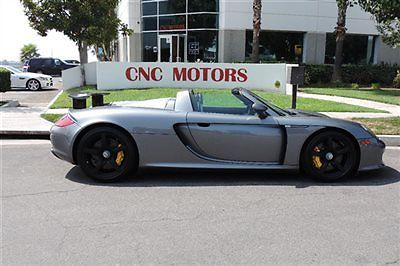 Porsche : Carrera GT 2dr Carrera 2005 porsche carrera gt cgt in seal grey 1 california owner super clean