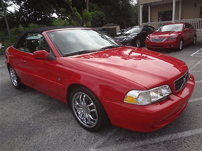 Volvo : C70 HPT 2004 stunning c 70 premium 1 fl owner low miles 1 of the nicest around certified