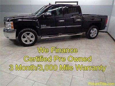 Chevrolet : Silverado 1500 LT 2WD Crew Cab 12 silverado 1500 lt 2 wd crew chrome wheels warranty we finance 1 texas owner