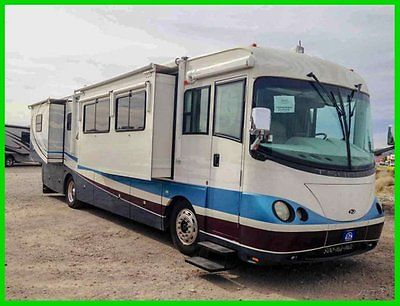 2004 Forest River Tsunami 37' Class A RV 400 HP Cummins Diesel 4 Slide Outs