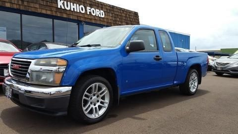 2007 GMC CANYON 4 DOOR EXTENDED CAB LONG BED TRUCK