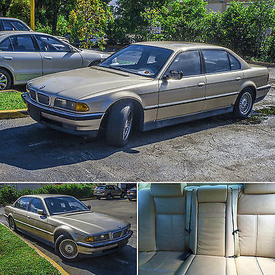 BMW : 7-Series 740IL 1995 bmw 740 il base sedan 4 door 4.0 l v 8 brand new starter good oem car battery