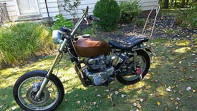 Honda CB 1970 Cb 450 Chopper Bobber Vintage Twin
