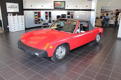 Porsche : 914 1975 porsche 914 2.0 l 5 speed never rusted ca car