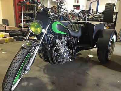 Custom Built Motorcycles : Other Hot rod rat rod trike disabled tbucket Yamaha trike 1100