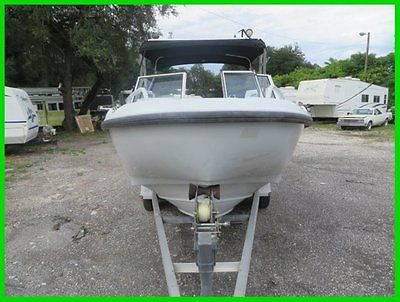 2001 Boston Whaler 21 Senrty w/ Trailer & T-Top Used