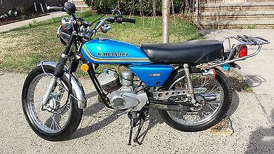 Kawasaki : Other 1975 kawasaki kh 100 kh 100 vintage
