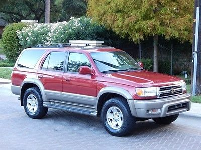 Toyota : 4Runner FreeShipping 4 runner 3.4 l limited 107 k miles excellent condition sunroof garage kept clean