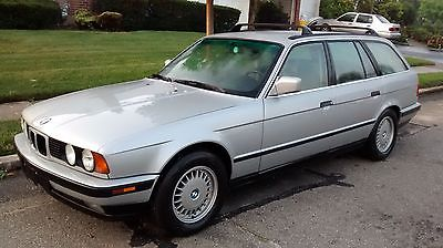 BMW : 5-Series TOURING WAGON GORGEOUS E34 59K ORIG MILES 525I 525 WAGON SUPER RARE LOW COST SHIPPING AVAILABL