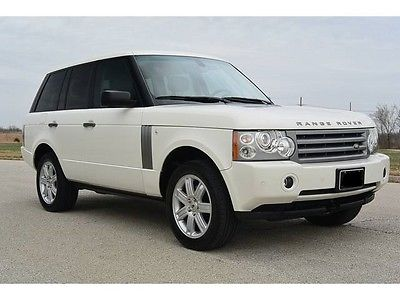 Land Rover : Range Rover HSE  2006 range rover hse very clean 100 no issues free delivery within 250 mi