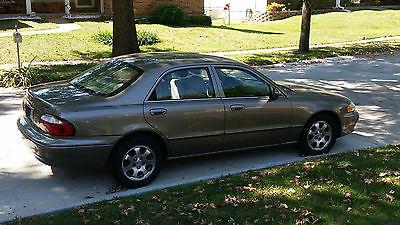 Mazda : 626 ES Sedan 4-Door 2002 mazda 626 great condition low miles